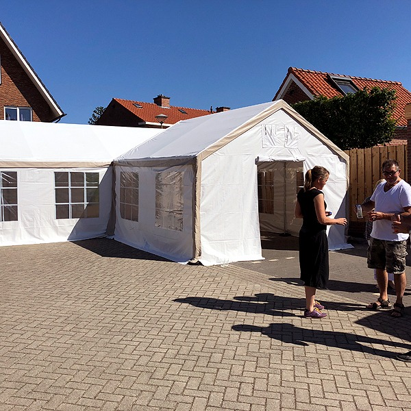 PVC Partytent 4x4 meter