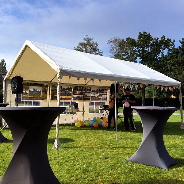 PVC Partytent 4x6 meter
