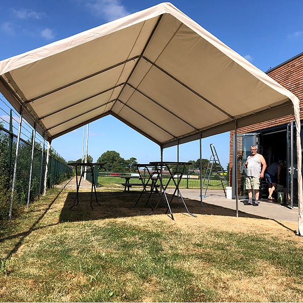 PVC Partytent 4x8 meter